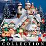 Thomas Kinkade Santa's North Pole Christmas Village Collection
